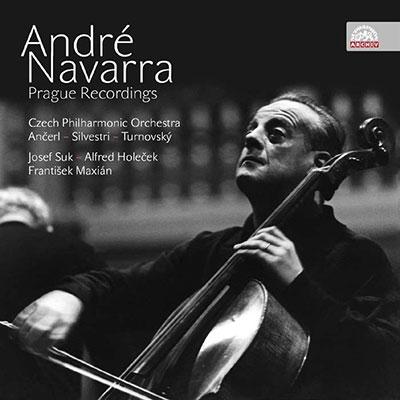 Andre Navarra Prague Recordings【最安値5CD】アンドレ・ナヴァラ プラハ録音集成