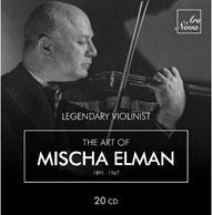 The Art of Mischa Elman【最安値20CD】ミッシャ・エルマンの芸術