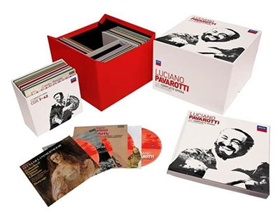 Luciano Pavarotti The Complete Opera Recordings【最安値95CD_6BDA】ルチアーノ・パヴァロッティ オペラ録音全集