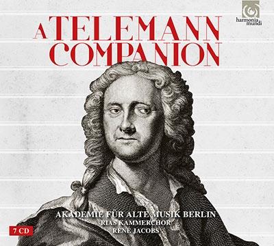 Rene Jacobs A Telemann Companion【最安値7CD】ルネ・ヤーコプス テレマンの手引き