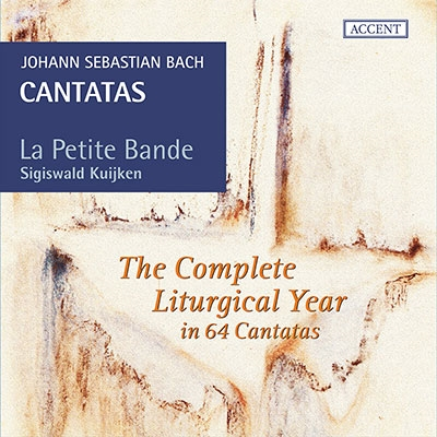 Sigiswald Kuijken La Petite Bande J.S.Bach Cantatas The Complete Liturgical Year in 64 Cantatas【最安値19CD】クイケン&ラ・プティット・バンド J.S.バッハ教会カンタータ集