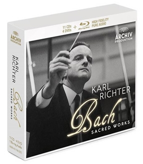 Karl Richter J.S.Bach Sacred Works Deluxe【最安値11CD_Blu-ray Audio_4DVD】カール・リヒターJ.S.バッハ宗教作品集