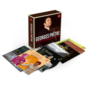 Georges Pretre - The Complete RCA Album Collection【最安値12CD】ジョルジュ・プレートル コンプリートRCAアルバム・コレクション