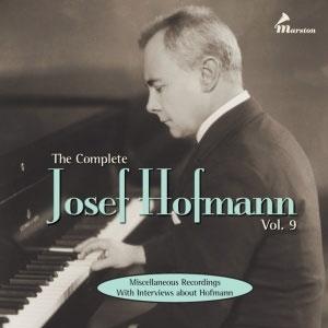 The Complete Josef Hofmann Vol.9【最安値2CD】ヨーゼフ・ホフマン全集 第9集
