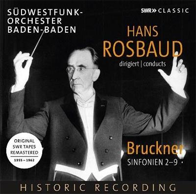 Hans Rosbaud Bruckner Symphony No.2-9【最安値8CD】ハンス・ロスバウト ブルックナー交響曲選集