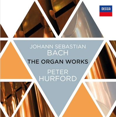 Peter Hurford J.S.Bach The Organ Works【最安値17CD】ピーター・ハーフォード バッハ・オルガン・ワークス