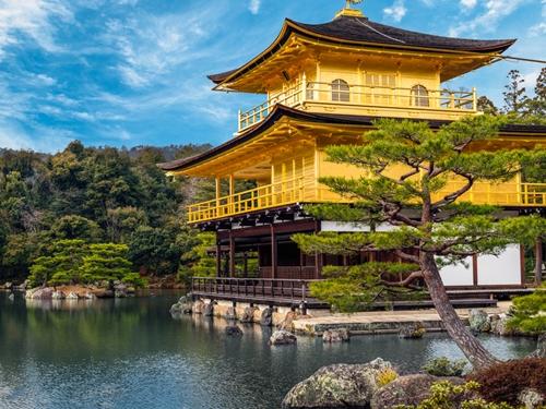 日本旅行4金閣寺