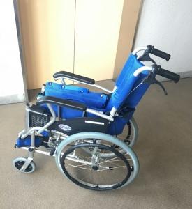 お借りした車椅子