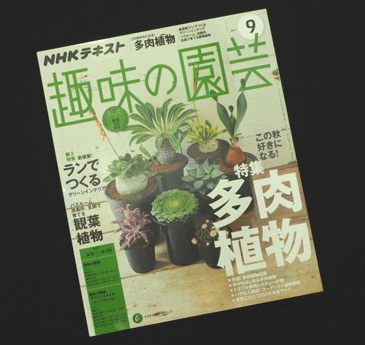 趣味の園芸2017特集