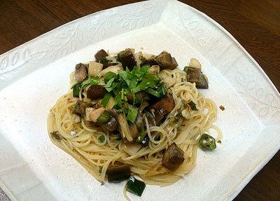 香味野菜たっぷり和風ねばねばカッペリーニ