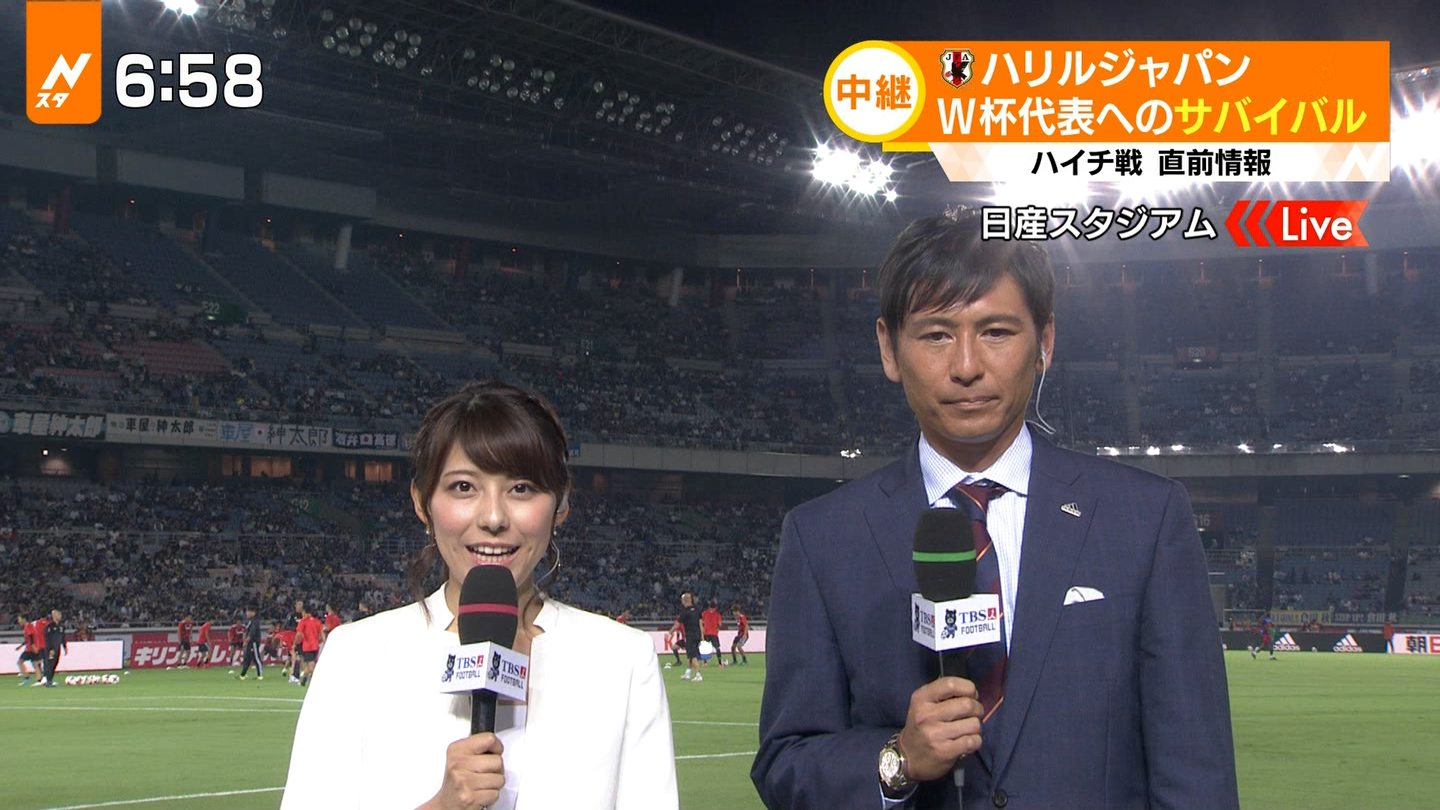TBS★上村彩子 Vol.6★はやドキ! S☆1 SUPER SOCCER BLITZ POWER PUSH	->画像>761枚