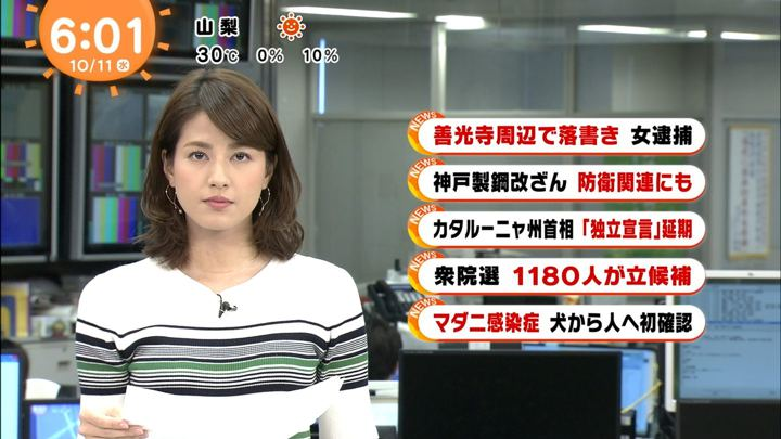2017年10月11日永島優美の画像08枚目