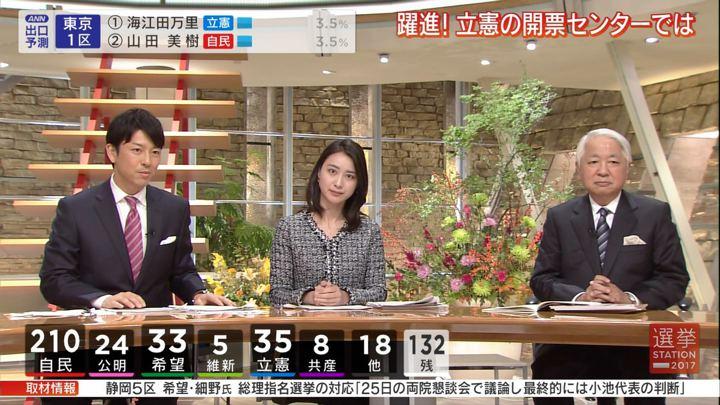 2017年10月22日小川彩佳の画像19枚目