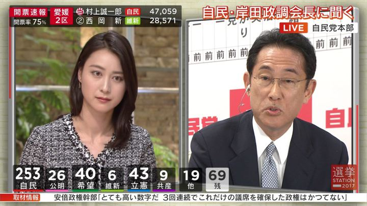 2017年10月22日小川彩佳の画像24枚目