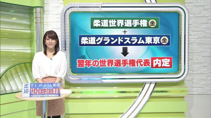 2017年11月21日鷲見玲奈の画像01枚目