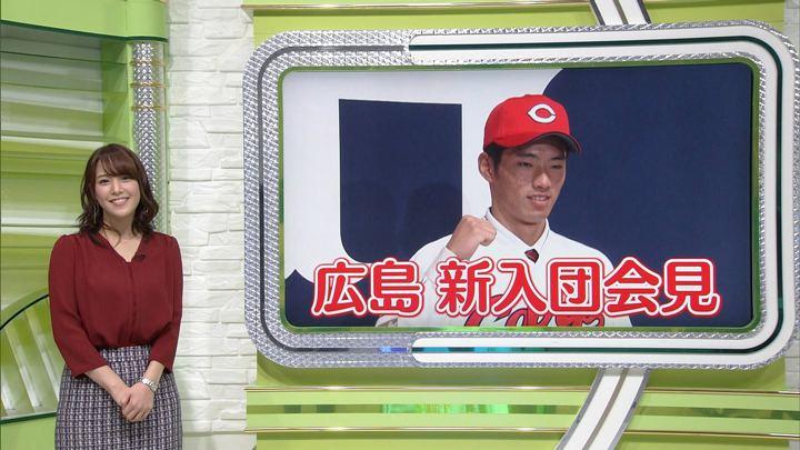 2017年12月13日鷲見玲奈の画像38枚目