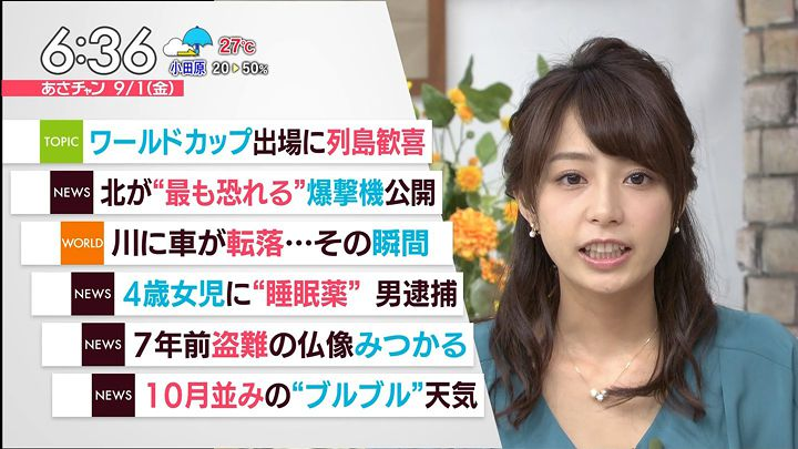 2017年09月01日宇垣美里の画像25枚目