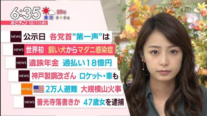 2017年10月11日宇垣美里の画像13枚目