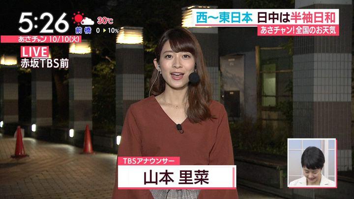 2017年10月10日山本里菜の画像01枚目