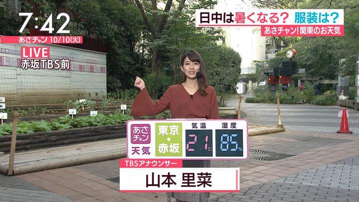 2017年10月10日山本里菜の画像20枚目