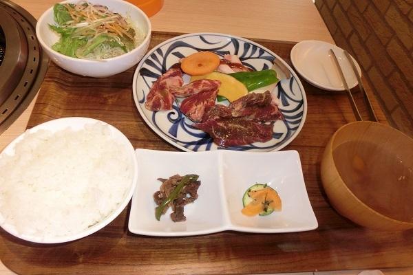 7月28日 焼肉定食 CIMG4843