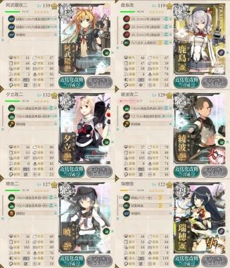 艦これ,攻略,戦果拡張任務!「Z作戦」前段作戦,装備,編成,6-3