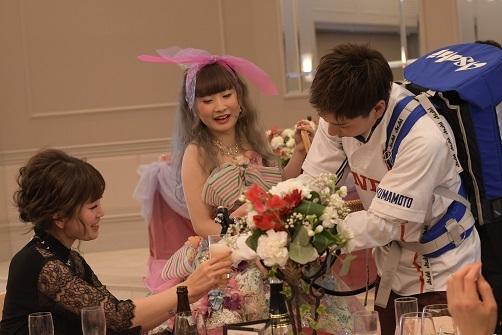 友人と 結婚式170811