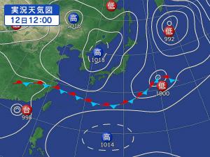 weathermap00天気図6月12日