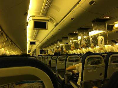 DHBT9trUQAA-TLzANA37便に乗ったけど