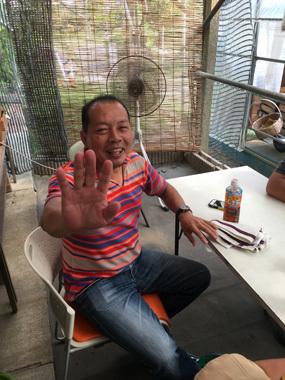 50歳 桃 お中元 ハゲ デブ 同級生 豊川 御津 花屋 花夢