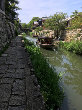 琵琶湖 近江八幡 彦根 長浜黒壁スクウェアー 花屋 花夢