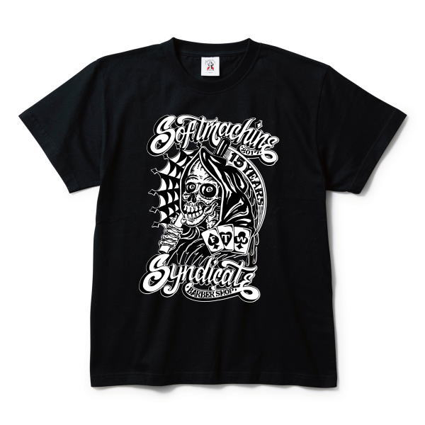 SOFTMACHINE×SYNDICATE BARBER SHOP BRENT-T