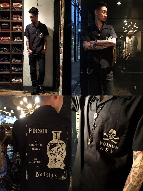GANGSTERVILLE POISON-S/S SHIRTS