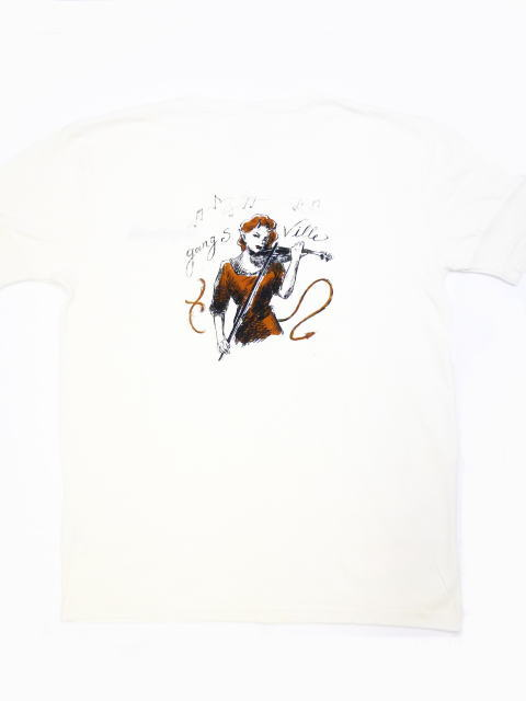 GANGSTERVILLE FIDDLE-S/S HENRY T-SHIRTS