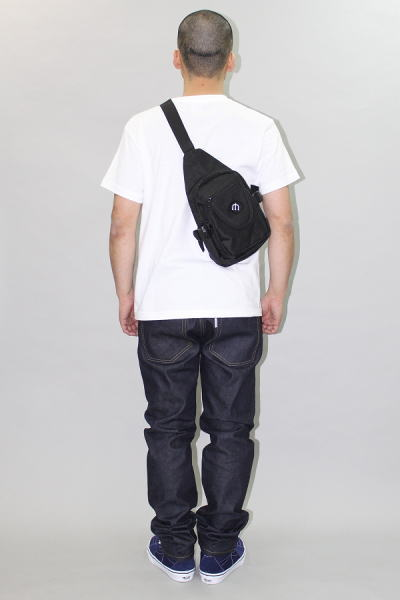 INTERFACE PITCHFORK PATCH SHOULDER BAG