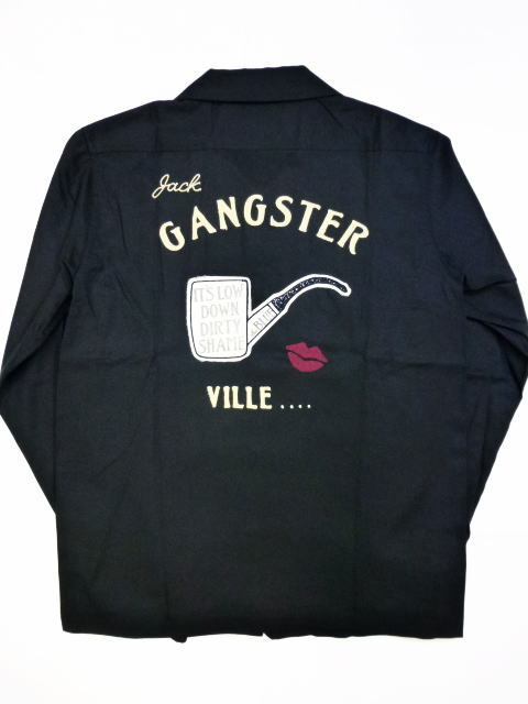 GANGSTERVILLE THE BLUE-L/S SHIRTS