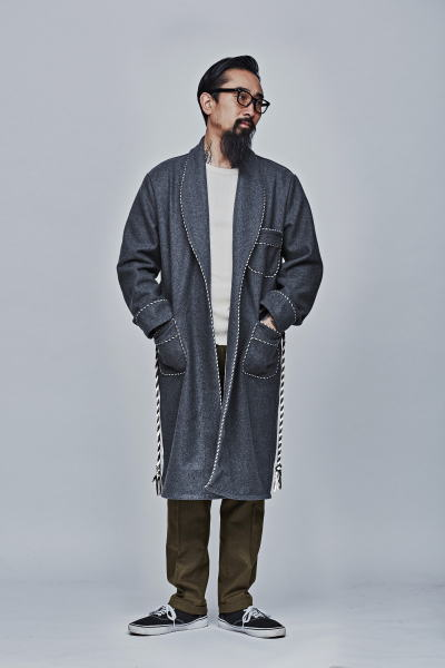 SOFTMACHINE SM HOUSE COAT DISHONOUR THERMAL NIKOLAI PANTS PARKES GLASS