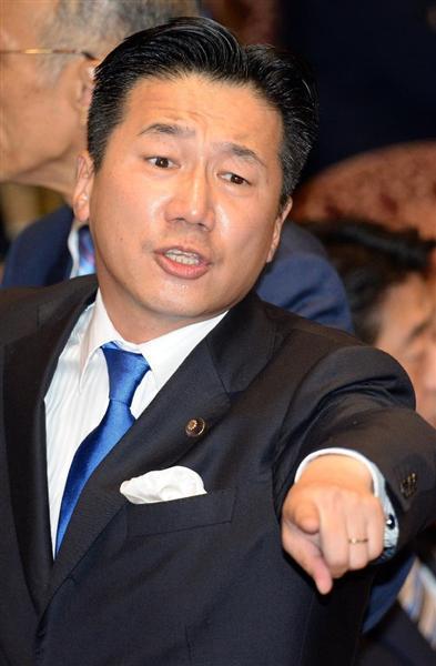 民進党の陳哲郎(福山哲郎)