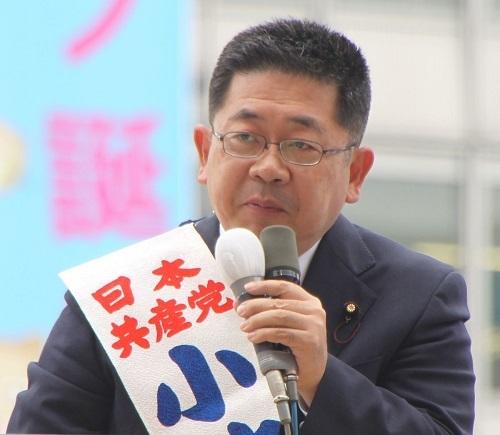 共産党書記長の小池晃