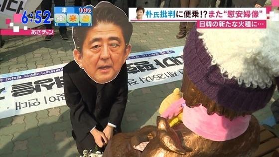 平成28年(2016年)12月30日、釜山の日本総領事館前に、韓国の市民団体がニセ慰安婦像(売春婦像、米軍装甲車轢殺少女像)を設置し、韓国政府も黙認!
