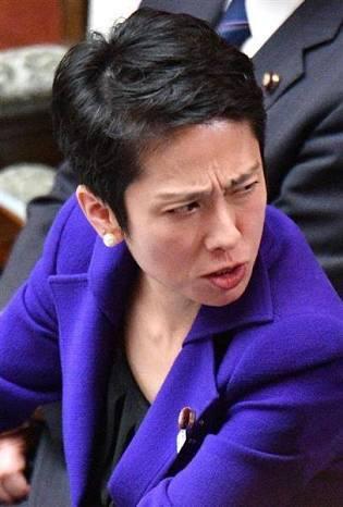 民進党の蓮舫代表、離党届の長島昭久元防衛副大臣に「最低」