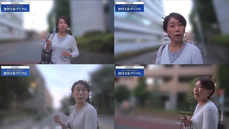 文春記者が隣に来たときの山尾さん 山尾志桜里がイケメン弁護士と「お泊まり禁断愛」《予告編》