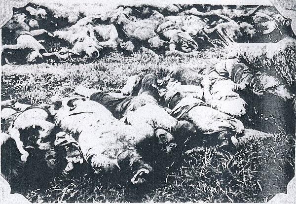 日本人居留民の遺体