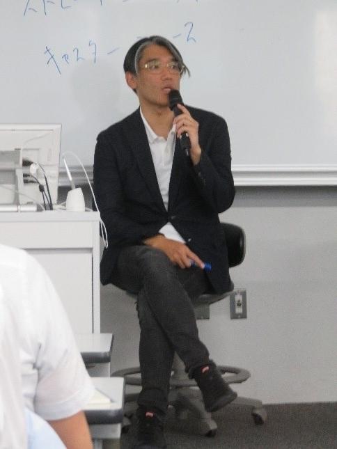 講師:金富 隆(TBS「サンデーモーニング」プロデュ―サー)