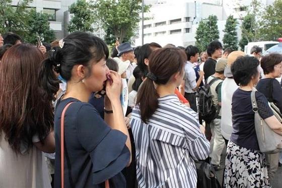 「朝鮮人をなめるな!」東京地裁前に怒号渦巻く