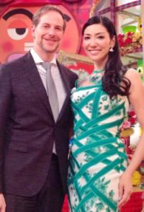 アンミカ2013年アメリカ人の実業家と結婚。