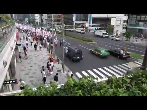 TBS偏向報道糾弾大会・デモ2017.9.9デモ
