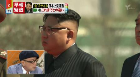 20170829日本テレビ「ミヤネ屋」ミサイルぶっ放してる奴の批判はしないんだ テリー伊藤