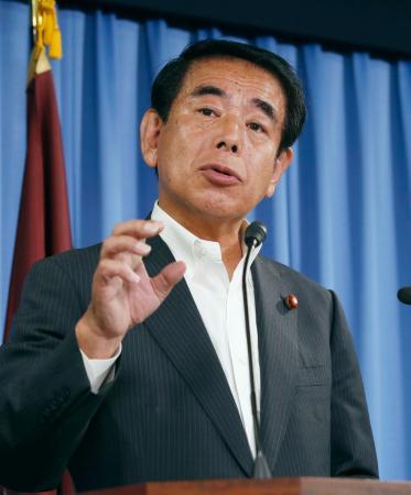 「記事は全く事実に反する」 下村博文氏、会見で文春報道の「加計献金」疑惑を全面否定