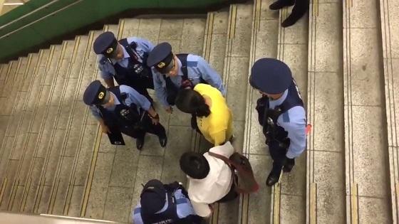 平 井駅で痴漢冤罪事件発生!女の虚偽証言で冤罪にも関らず連行